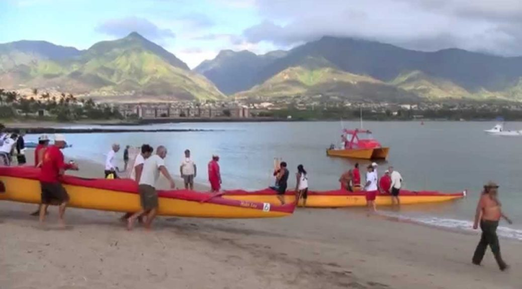 Outrigger-Canoe-Race-in-Maui-Hawaii