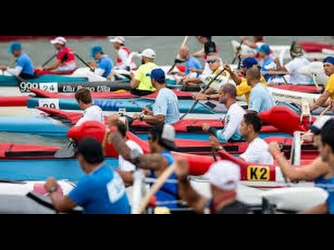 Mixed-Race-Start-Liberty-Challenge-outrigger-canoe-race-New-York-Harbor-2016