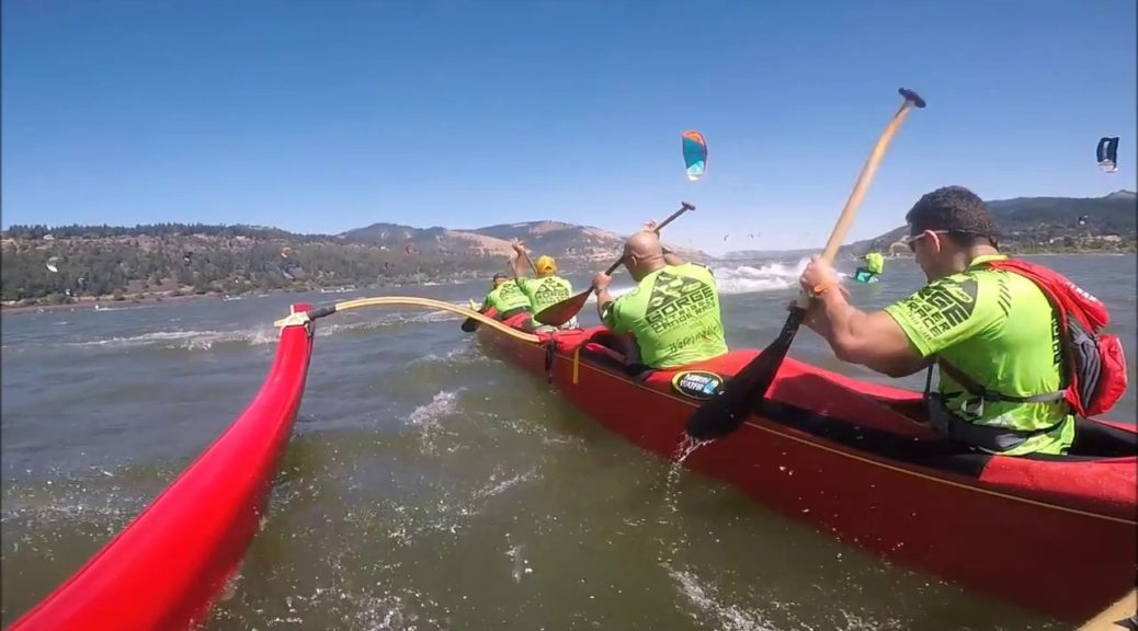 HWOPS-Vs.-ParaSurfers-At-The-Gorge-Outrigger-Race-2017