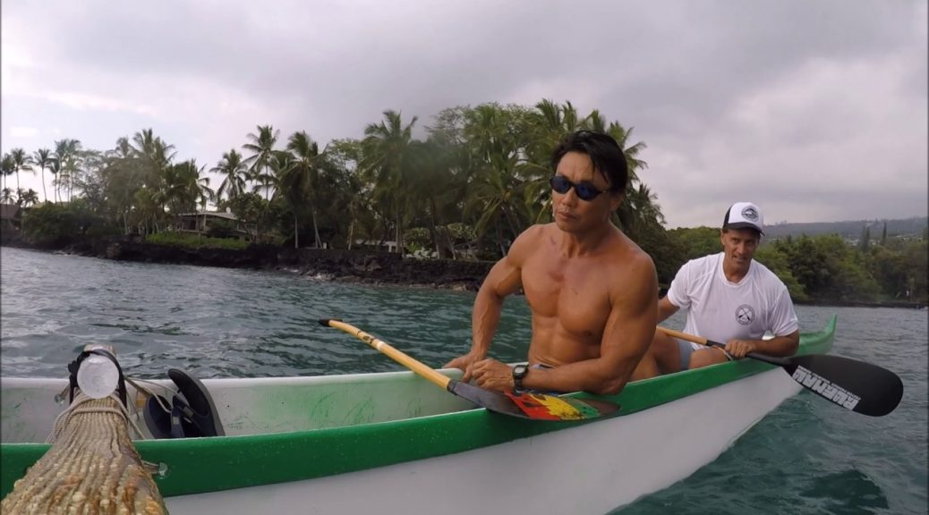 Outrigger-Racing-Turns-Steersman-Guide-at-Keauhou-Canoe-Club-6-29-17