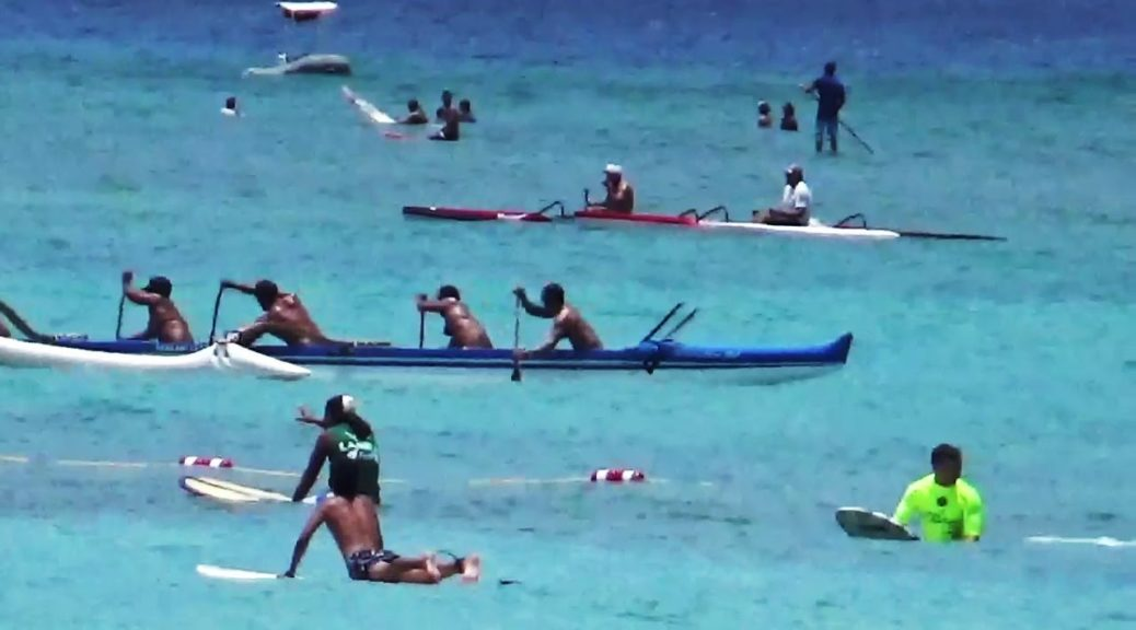 Waikiki-Outrigger-Regatta-Mens-Canoe-Races